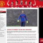 El Manchester United deja en evidencia la chapuza del Madrid con De Gea