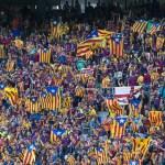 La UEFA vuelve a multar al Barcelona por las 'estelades'