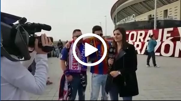 Barça TV sólo prohíbe banderas españolas. La prueba aquí.