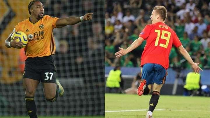 Dani Olmo le 'gana la partida' a Adama Traoré