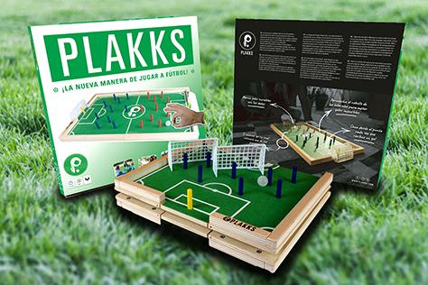 PLAKKS – ¡El nuevo juego de fútbol mesa!