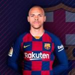 Oficial: Braithwaite, nuevo jugador del Barcelona