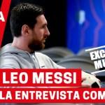 Leo Messi se queda. Entrevista completa
