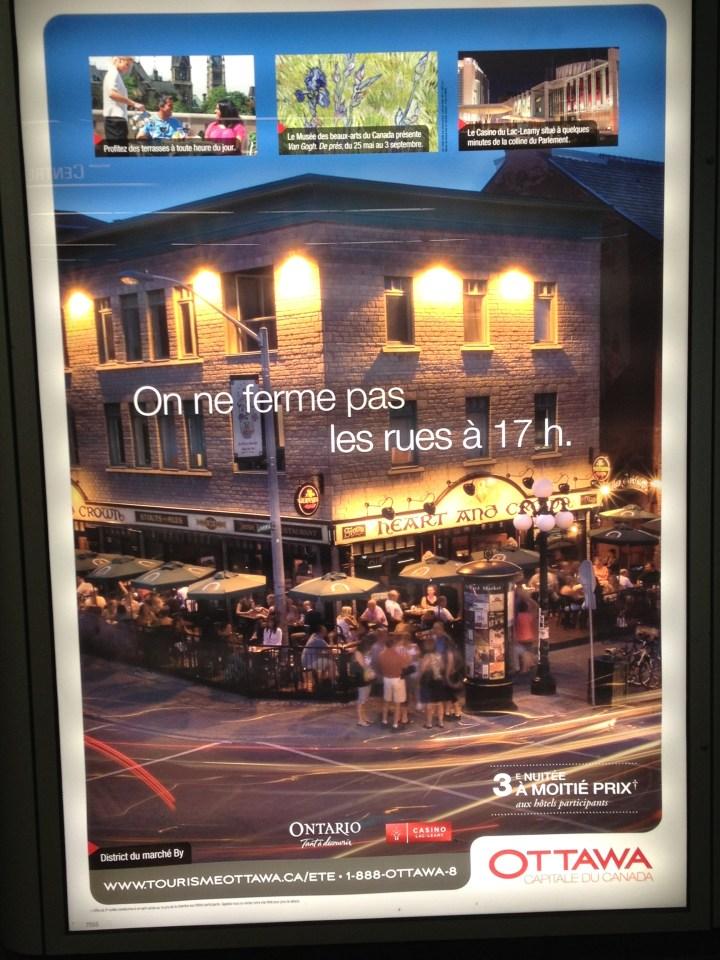 Ottawa ad campaign