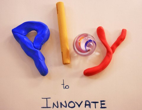 Playing is innovating