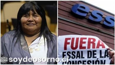"""Photo of DIPUTADA NUYADO: """"ESSAL MANTIENE UNA DEUDA PENDIENTE CON MÁS DE 1.200 FERIANTES DE OSORNO AFECTADOS POR LA CRISIS DEL AGUA"""""""