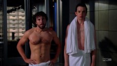 """Dr. Jack Hodgins and Dr. Zack Addy in """"Bones"""""""