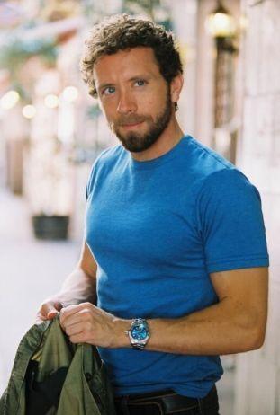 TJ Thyne Blue shirt