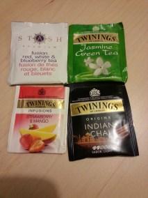 Feliz con estos nuevos té... gracias swap!!!