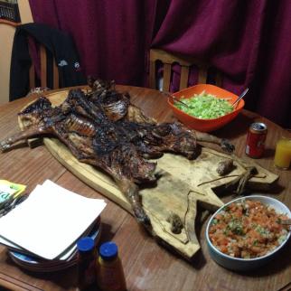 Estaba delicioso :P una cosa poca de la patagonia