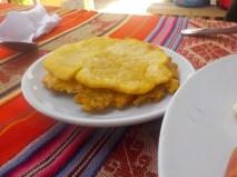 Patacón, todos los platos trían patacón