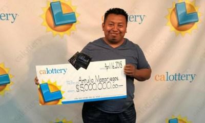 hombre que ganó la lotería 4 veces en 6 meses