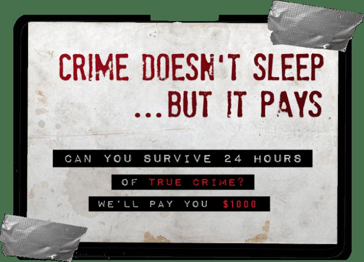 Te pagan mil dólares por ver documentales de asesinos seriales