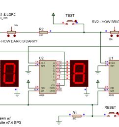 enumerator schematics simulation complete circuit diagram  [ 1310 x 766 Pixel ]