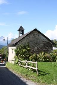 Local church in a village