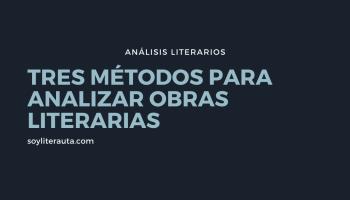 análisis literarios
