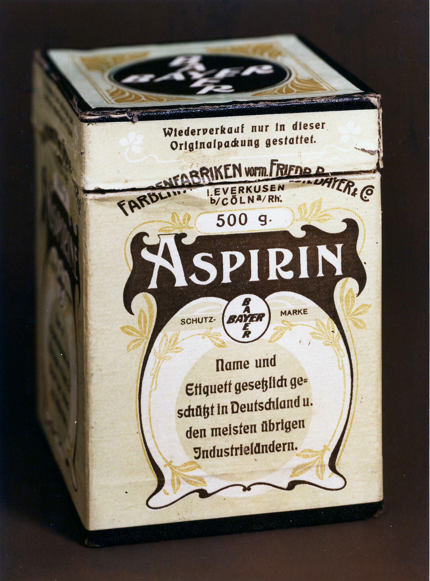 La 'Aspirina' cumple 120 años
