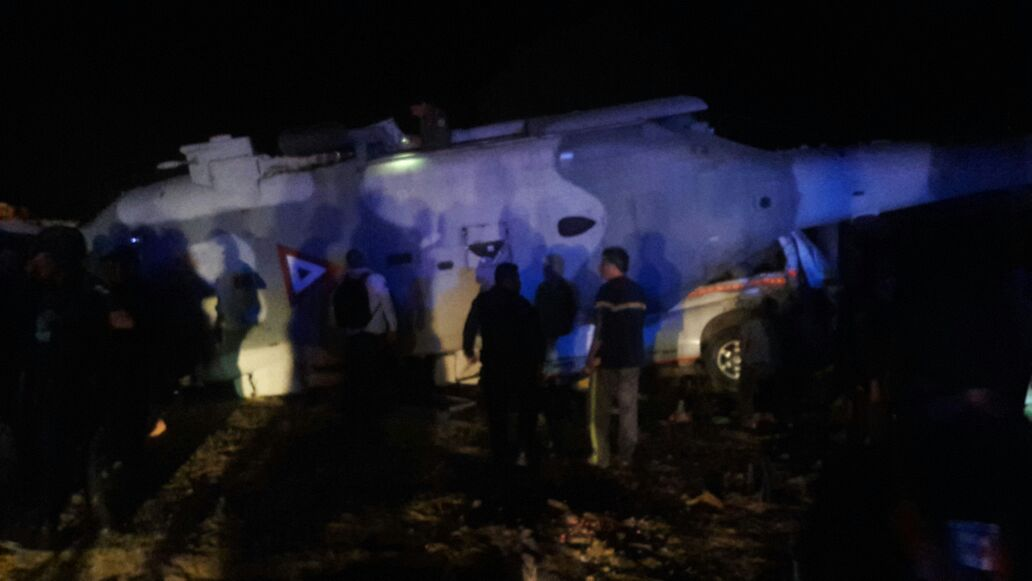 #Último minuto: Cae helicóptero en el que viajaban Alejandro Murat, gobernador de Oaxaca, y Alfonso Navarrete Prida, Secretario de Gobernación