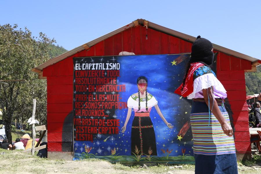Rebeldía, lucha, resistencia y fiesta: 3 días en El Caracol