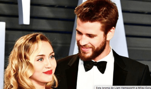 #Video: Chequen la divertida broma que Liam Hemsworth le hizo a Miley Cyrus