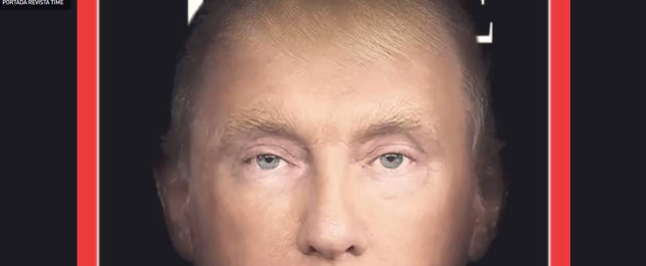 Donald Putin, la nueva portada de la revista Time
