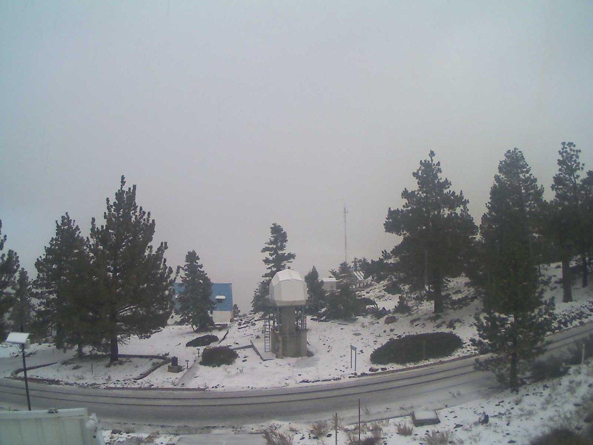 Llegó a México la primera nevada de la temporada