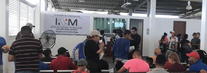Los integrantes de la Caravana Migrante, están siendo atendidos de manera ordenada y con apego a la normatividad nacional, cumpliendo con los protocolos internacionales.