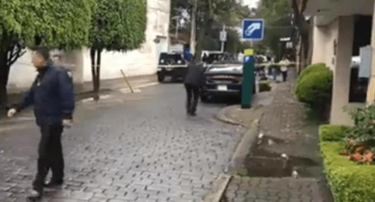 #Video: Ocurre balacera en la casa del ex cardenal Norberto Rivera; hay heridos.