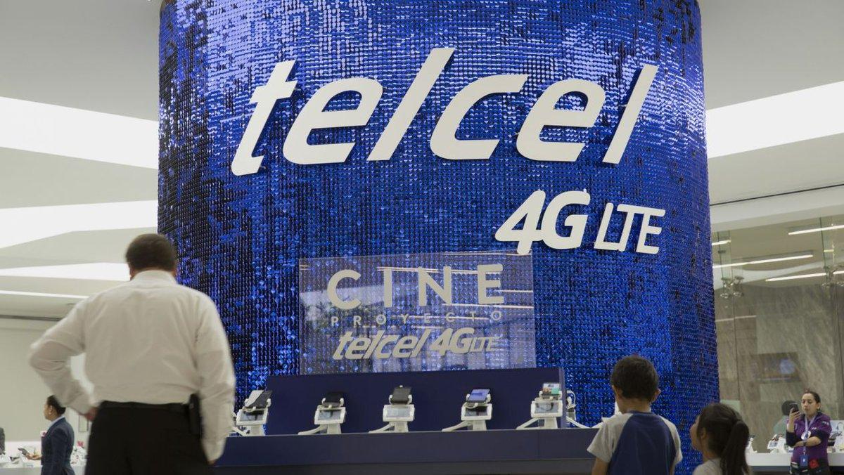 Reportan fallas en la red de Telcel