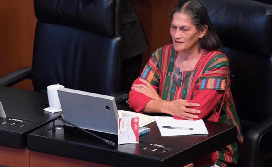 La senadora Jesusa Rodríguez aseguró que cada vez que se come un taco de carnitas en el país, una persona celebra la caída de la gran #Tenochtitán