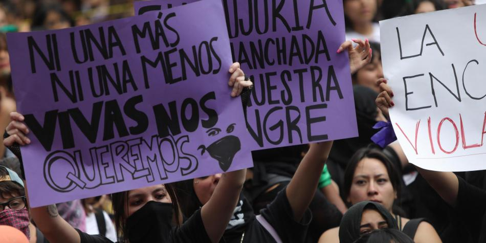 Continúa el debate sobre las protestas contra la violencia machista en CDMX