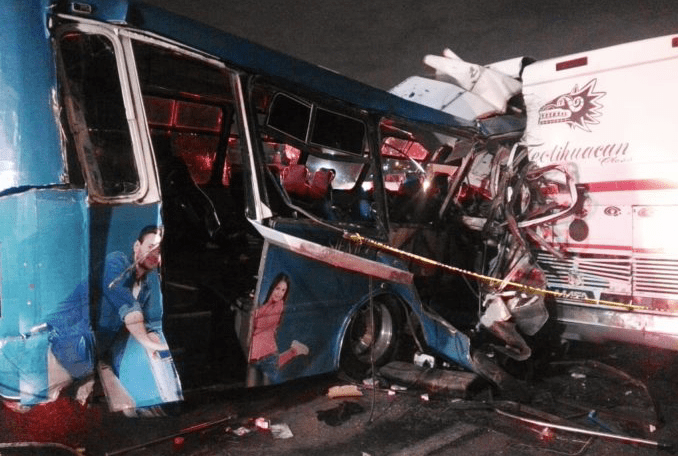 Choque en la carretera México-Pachuca deja por lo menos 11 muertos