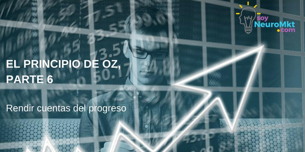 El Principio de Oz, Parte 6: Rendir cuentas del progreso