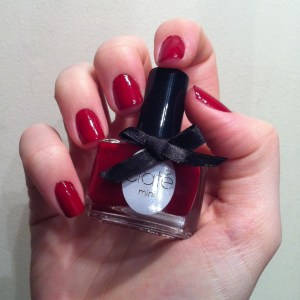 Ciaté dangerous affair swatch