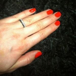 Essie Orange it's obvious