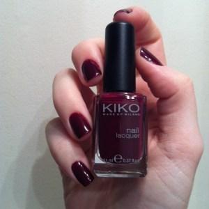Kiko 243 Plum Red swatch