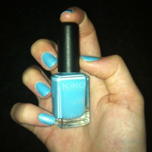 Kiko Light Blue Sephora Night Spirit Stamping