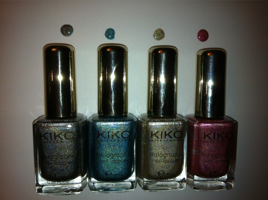 Kiko collection Holo swatch