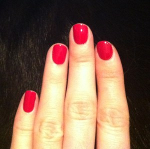 OPI Manicuriste of Seville swatch