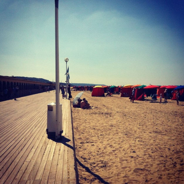 Plage Deauville Planches