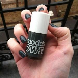 Models own Moody Grey