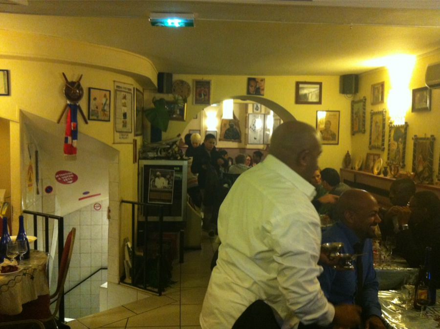 Menelik Restaurant ethiopien Paris