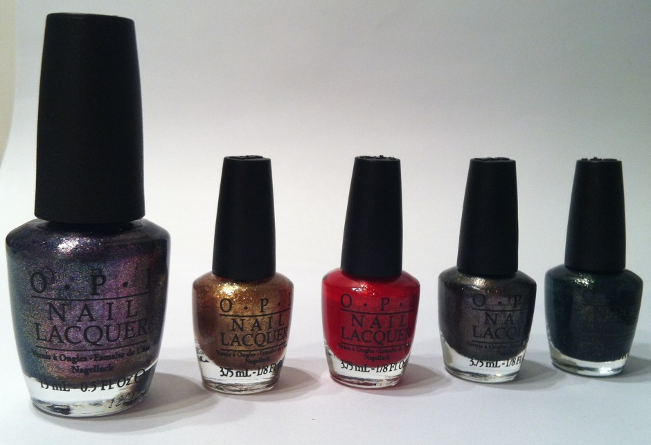 Collection OPI Skyfall