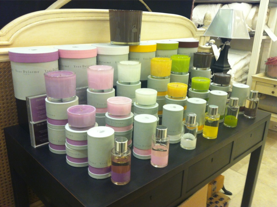 Yves Delorme collection Bougies