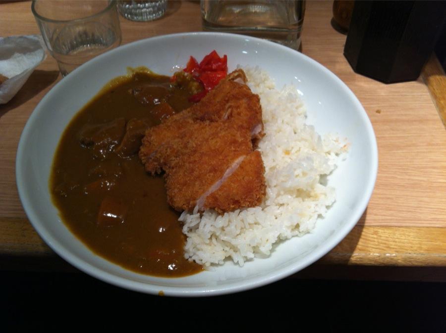 restaurant japonais Aki rue Sainte Anne Katsu Curry