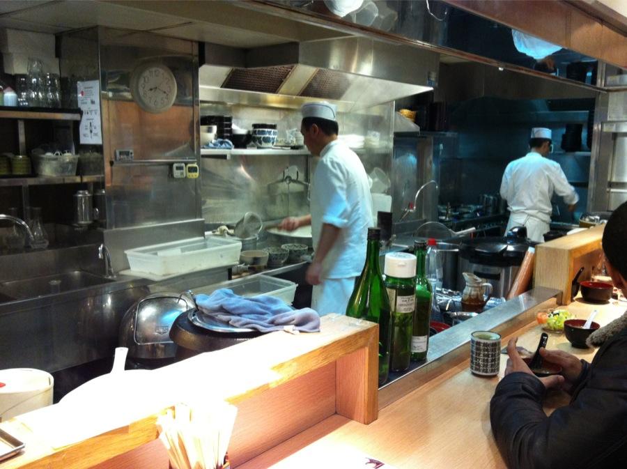restaurant japonais Aki rue Sainte Anne cuisine