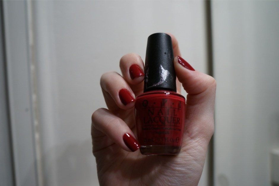 From A To Zurich OPI swatch