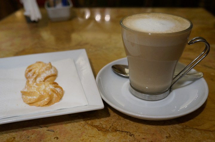 Latte macchiato italie