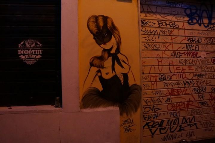 Street Art Miss Van Rome
