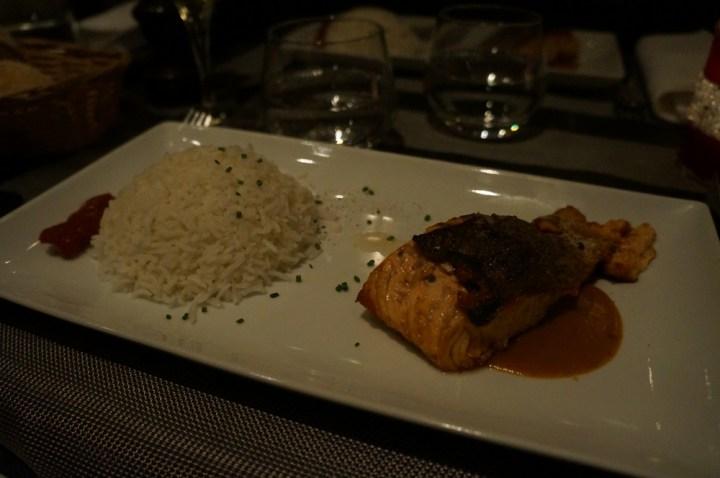 Bar touch in Paris avis dos saumon homard riz